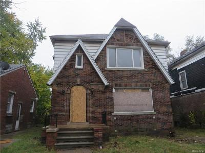 Macomb County, Oakland County, Wayne County Multi Family Home For Sale: 8819 Intervale Street