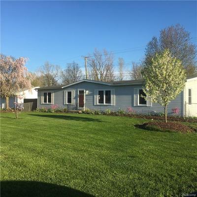 Van Buren, Van Buren Twp Single Family Home For Sale: 44335 Ecorse
