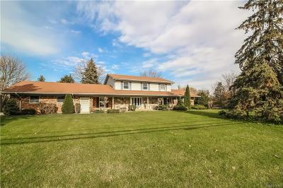 Single Family Home For Sale: 6211 West Road