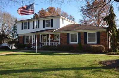 Livonia Single Family Home For Sale: 36907 Bennett Street