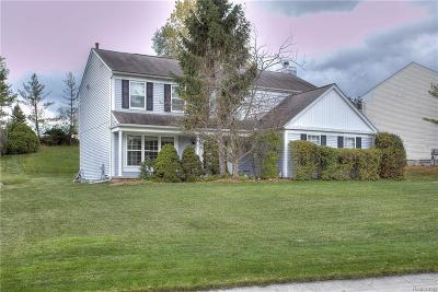 West Bloomfield, West Bloomfield Twp Single Family Home For Sale: 1797 Poppleton Drive