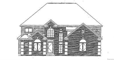 Farmington, Farmington Hills Single Family Home For Sale: Old Colony