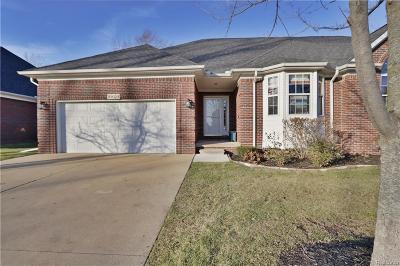 STERLING HEIGHTS Condo/Townhouse For Sale: 3829 Pointe Drive