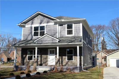 ROYAL OAK Single Family Home For Sale: 603 Golf Avenue