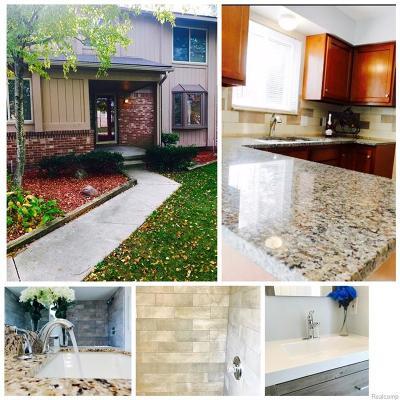 Farmington Hills Single Family Home For Sale: 37457 Chesterfield Court