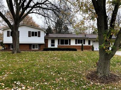 West Bloomfield, West Bloomfield Twp Single Family Home For Sale: 7227 Stonebrook Rd.