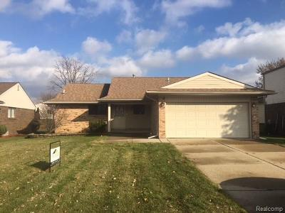 MACOMB Single Family Home For Sale: 45386 Heatherwoode Lane