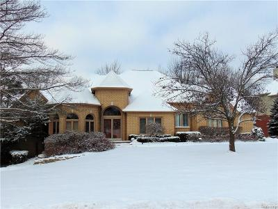 West Bloomfield, West Bloomfield Twp Single Family Home For Sale: 6558 Bridgewater Drive