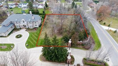 Clinton Twp Residential Lots & Land For Sale: 37651 Hidden Valley Court