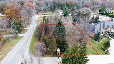 Clinton Twp Residential Lots & Land For Sale: 37644 Hidden Valley Court