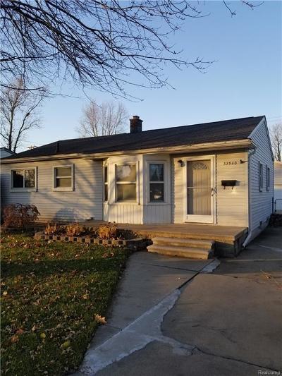 Garden City Single Family Home For Sale: 32940 Kathryn Street