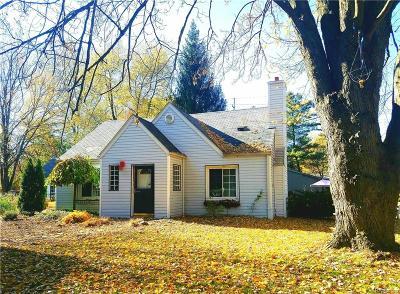 Livonia Single Family Home For Sale: 14361 Newburgh Livonia Mi Road S