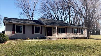 Brownstown Twp, Flat Rock Single Family Home For Sale: 35809 Erie Drive