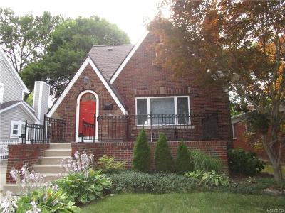 Livonia Single Family Home For Sale: 9833 Ingram Street