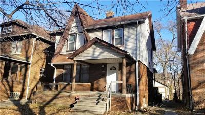 Detroit Single Family Home For Sale: 16162 Normandy Street
