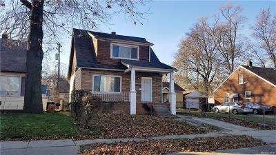 Detroit Multi Family Home For Sale: 20117 Santa Rosa Drive