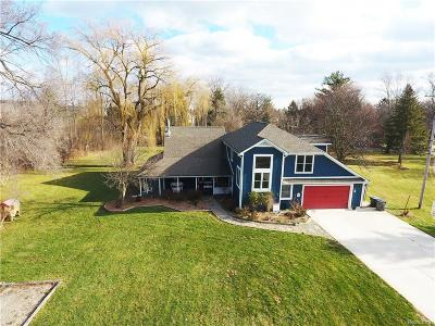Northville Twp Single Family Home For Sale: 18510 Ridge Road