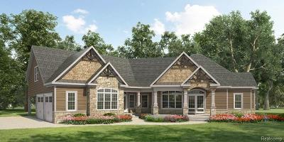 West Bloomfield Twp Residential Lots & Land For Sale: 3930 Mitra Court