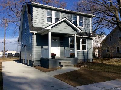 Ferndale Single Family Home For Sale: 639 E Hazelhurst Street