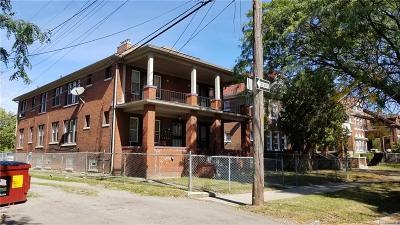 Detroit Multi Family Home For Sale: 2340 W Grand Street