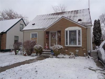 Inkster Single Family Home For Sale: 26644 Oakland Street