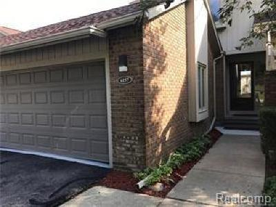 West Bloomfield, West Bloomfield Twp Condo/Townhouse For Sale: 6157 Walnut Hills Boulevard