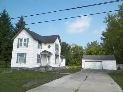 Canton Single Family Home For Sale: 43412 Cherry Hill Rd