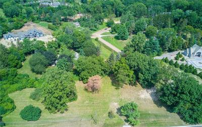 Bloomfield Twp Residential Lots & Land For Sale: 5486 Brookdale Road