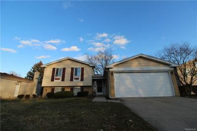 Sterling Heights Single Family Home For Sale: 39644 Timberlane Drive