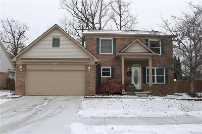 Brownstown Twp Single Family Home For Sale: 27714 Winchester