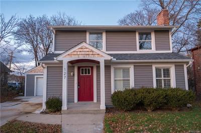 ROYAL OAK Single Family Home For Sale: 127 E Farnum Avenue
