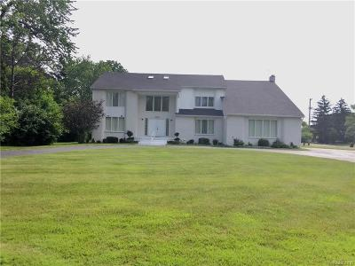 West Bloomfield, West Bloomfield Twp Single Family Home For Sale: 5793 Springwater Lane