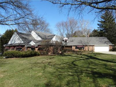 Grosse Ile Twp MI Single Family Home For Sale: $399,000