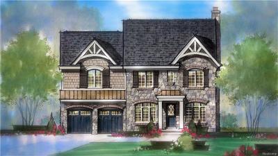 Birmingham MI Single Family Home For Sale: $1,800,000