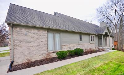 NOVI Condo/Townhouse For Sale: 24561 Edgewood Drive #43