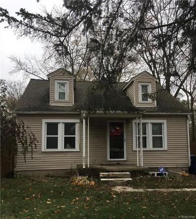 Redford Twp Single Family Home For Sale: 18400 Inkster Road