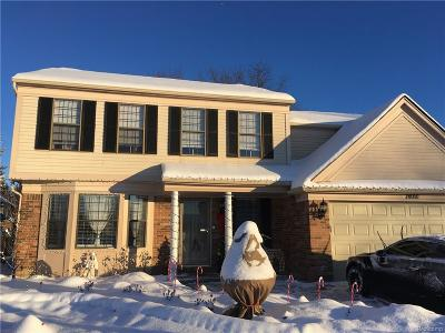 Canton Twp Single Family Home For Sale: 7890 Charrington Drive