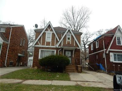Detroit Single Family Home For Sale: 16567 Cheyenne Street