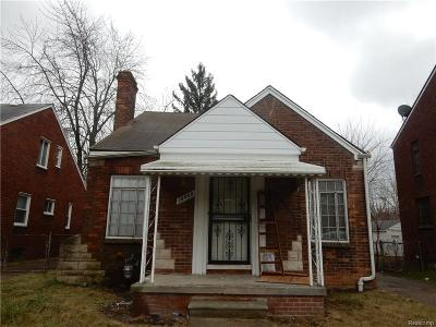 Detroit Single Family Home For Sale: 10408 Roxbury Street