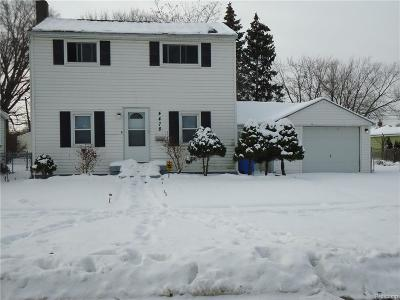 Dearborn Heights Single Family Home For Sale: 4478 Campbell Street