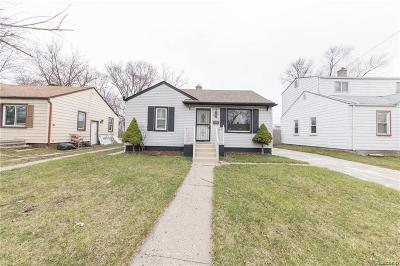 Inkster Single Family Home For Sale: 26144 Norfolk Street