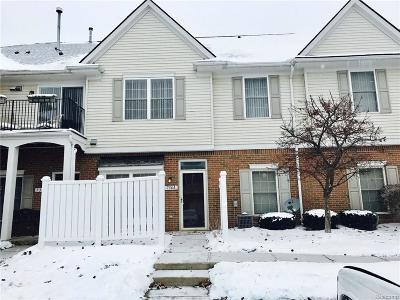 Waterford, Waterford Twp Condo/Townhouse For Sale: 736 Amberly Drive