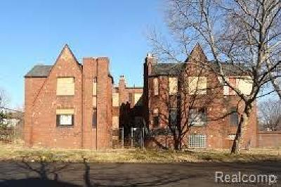 Detroit Multi Family Home For Sale: 13905 La Salle Boulevard