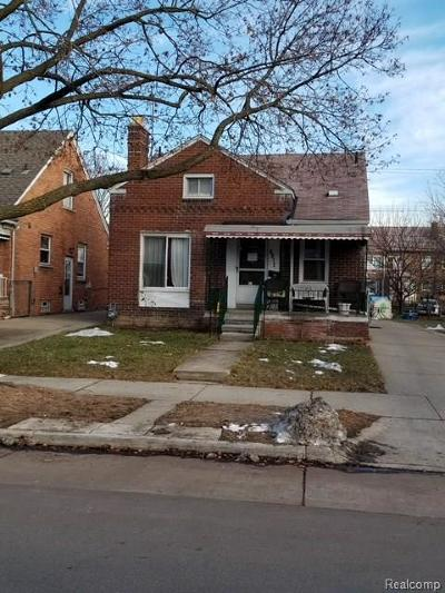Dearborn Single Family Home For Sale: 6312 Appoline Street