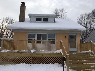 Inkster Single Family Home For Sale: 1222 Magnolia Drive
