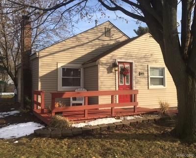 Ypsilanti Twp Single Family Home For Sale: 2155 Moeller Avenue