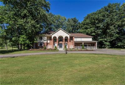 Canton Single Family Home For Sale: 2780 Denton Road W