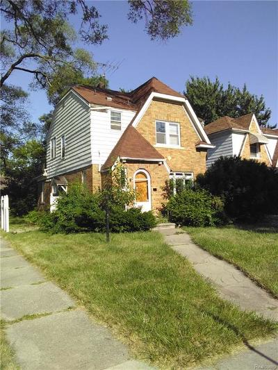 Detroit Single Family Home For Sale: 15376 Sussex Street