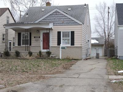 Redford Twp Single Family Home For Sale: 15856 Centralia