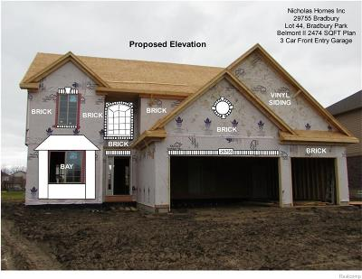 Flat Rock Single Family Home For Sale: 29755 Bradbury